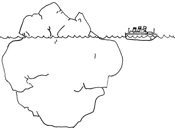 anger iceberg coloring page  understand what is driving