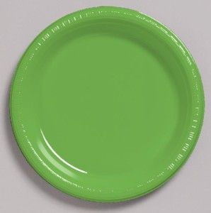 Lime Green Plastic Plate for your #Beetlejuice #Halloween #Party //  sc 1 st  Pinterest & Lime Green Plastic Plate u2013 9 Inches / 23cm | Plastic plates and ...