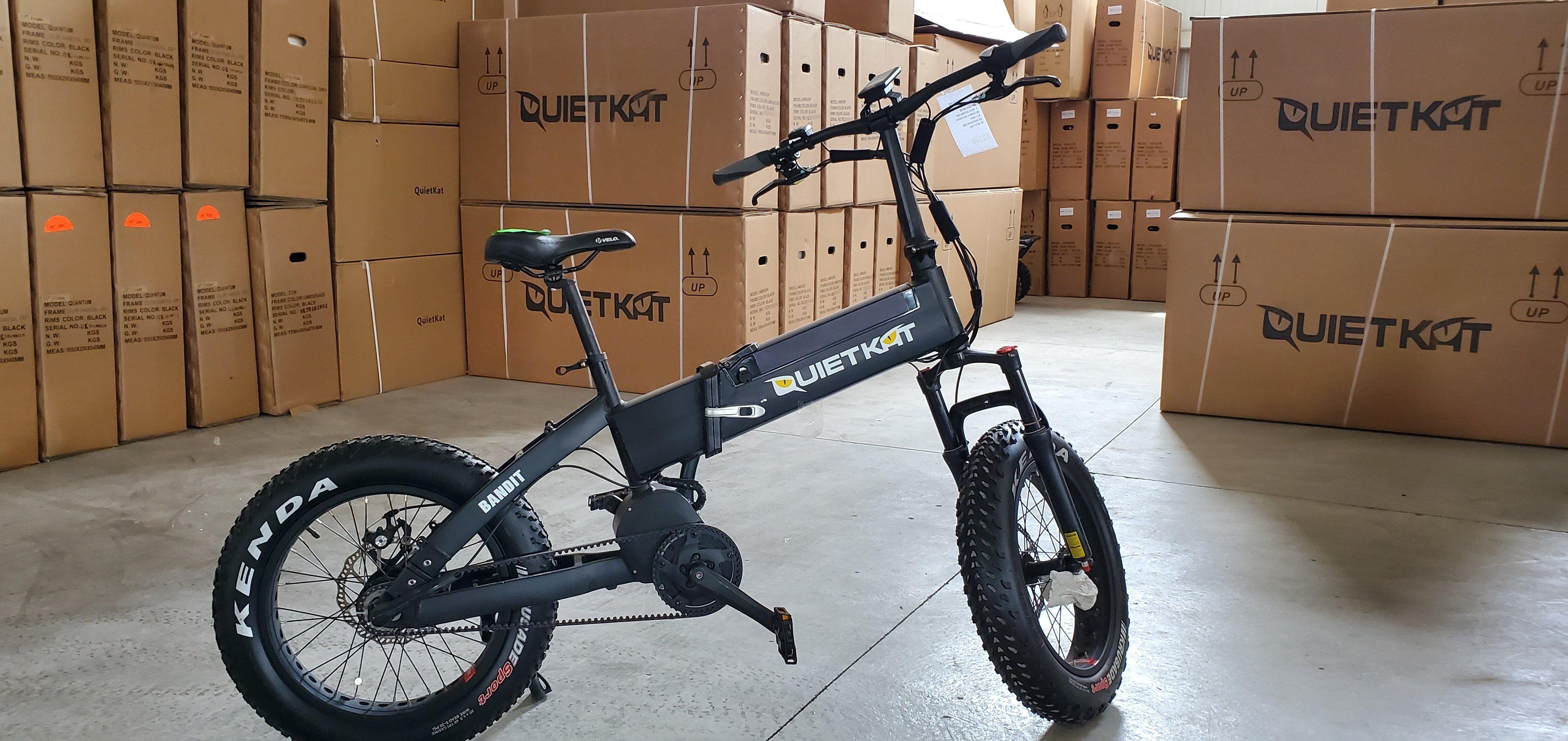 Quietkat 2018 Bandit Folding Electric Bike Demo 987 Electric