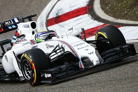 Felipe Massa before the big shunt, Canadian Grand Prix 2014.