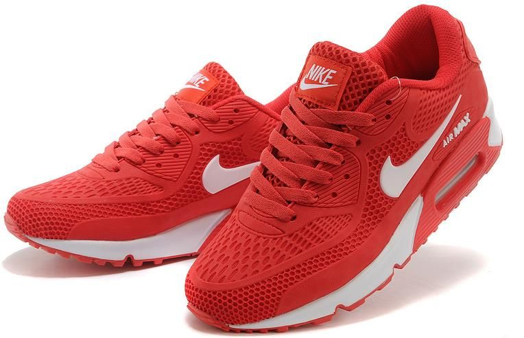 Nike Air Max 90 Essential Red white Men Women cheap Nike Air Max 90  Essential If you want to look Nike Air Max 90 Essential Red white Men Women