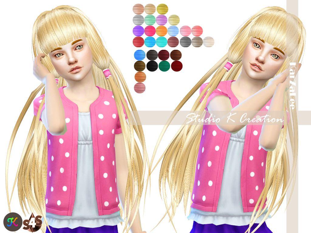 Studio K Creation: Animate hair 59 - Chobits ~ Sims 4