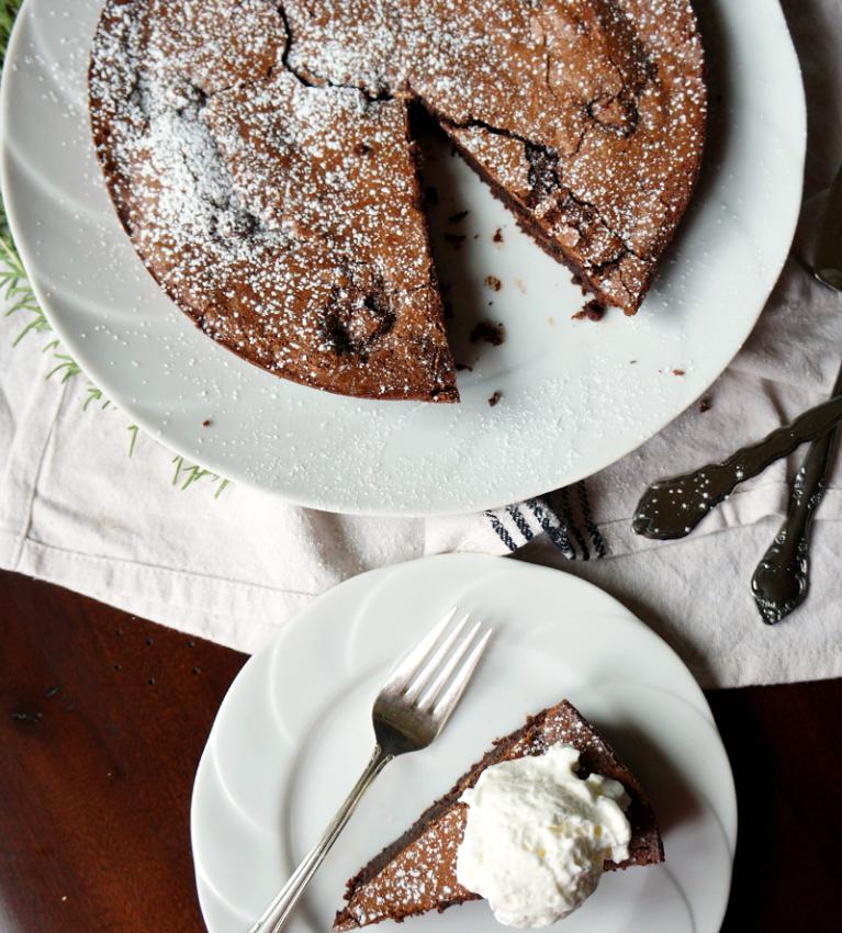 Baci-Stuffed Italian Chocolate Cake - Colavita Recipes