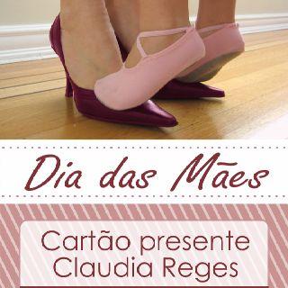 Peça gráfica  Cliente: Cláudia Reges Maio de 2012