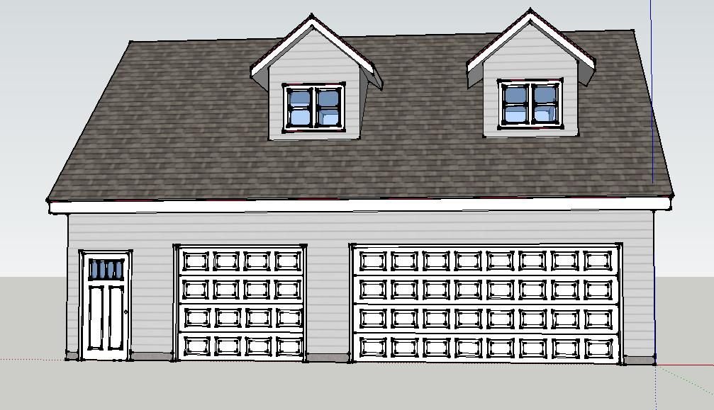 Building 30 X 36 Garage And Shop Space The Garage Journal Board Home Additions Garage Shop Plans Garage Plans