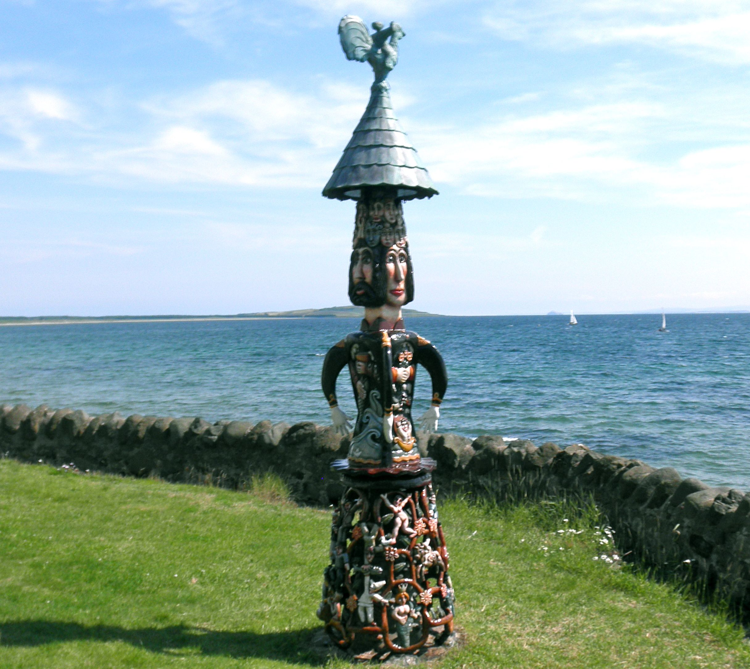 74fe861ae52 Scottish coastal wood carving. The detail was incredible ...
