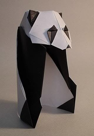 This Is Very Cool Origami Panda Instructions All Things Panda