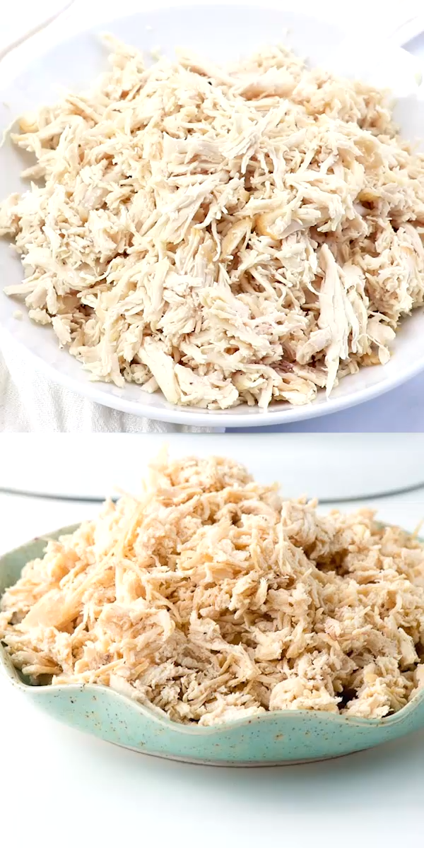 How to Make Moist Shredded Chicken Breast images