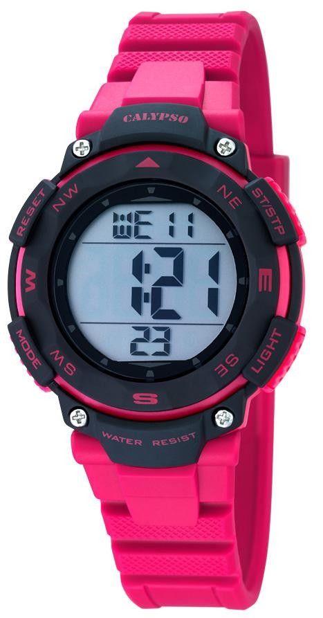 Calypso Digital Sport Damen Armbanduhr K5669/2 pink    http://www.uhren-versand-herne.de/calypso-digital-sport-damen-armbanduhr-k5669-2-pink.html