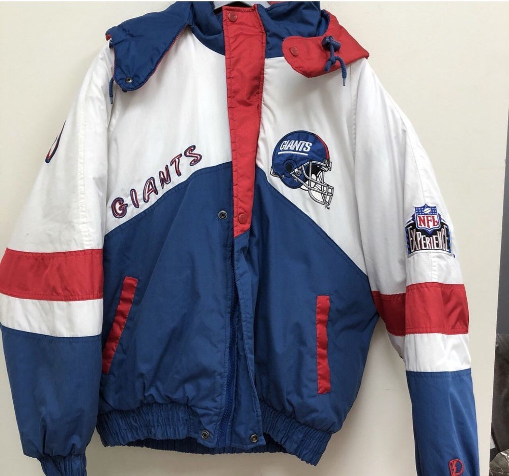buy popular cc207 7d855 Pro Player NFL New York Giants Puffer Jacket Size L Free ...
