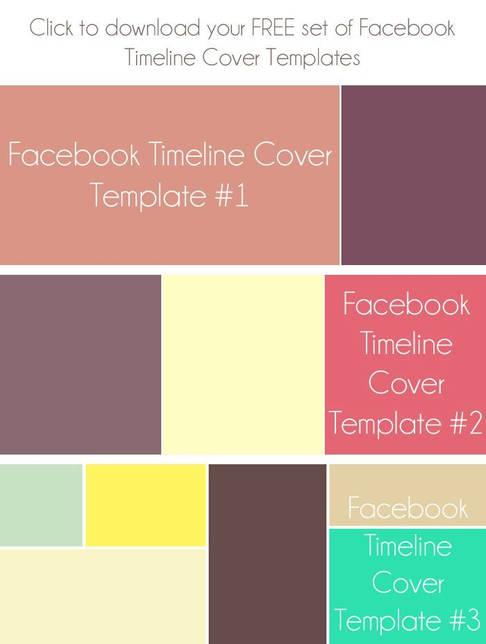 free facebook cover templates