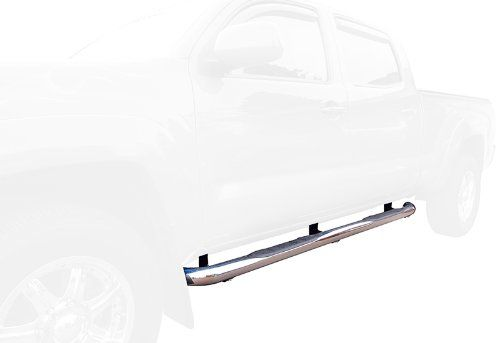 Custom Fit 05 13 Toyota Tacoma Double Cab Stainless Steel 3 Side