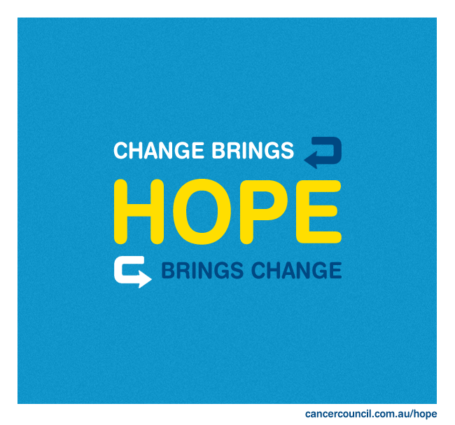 Quotes Of Hope Stunning Quote #hope #love #cancercouncil #cancer #inspire #advice .