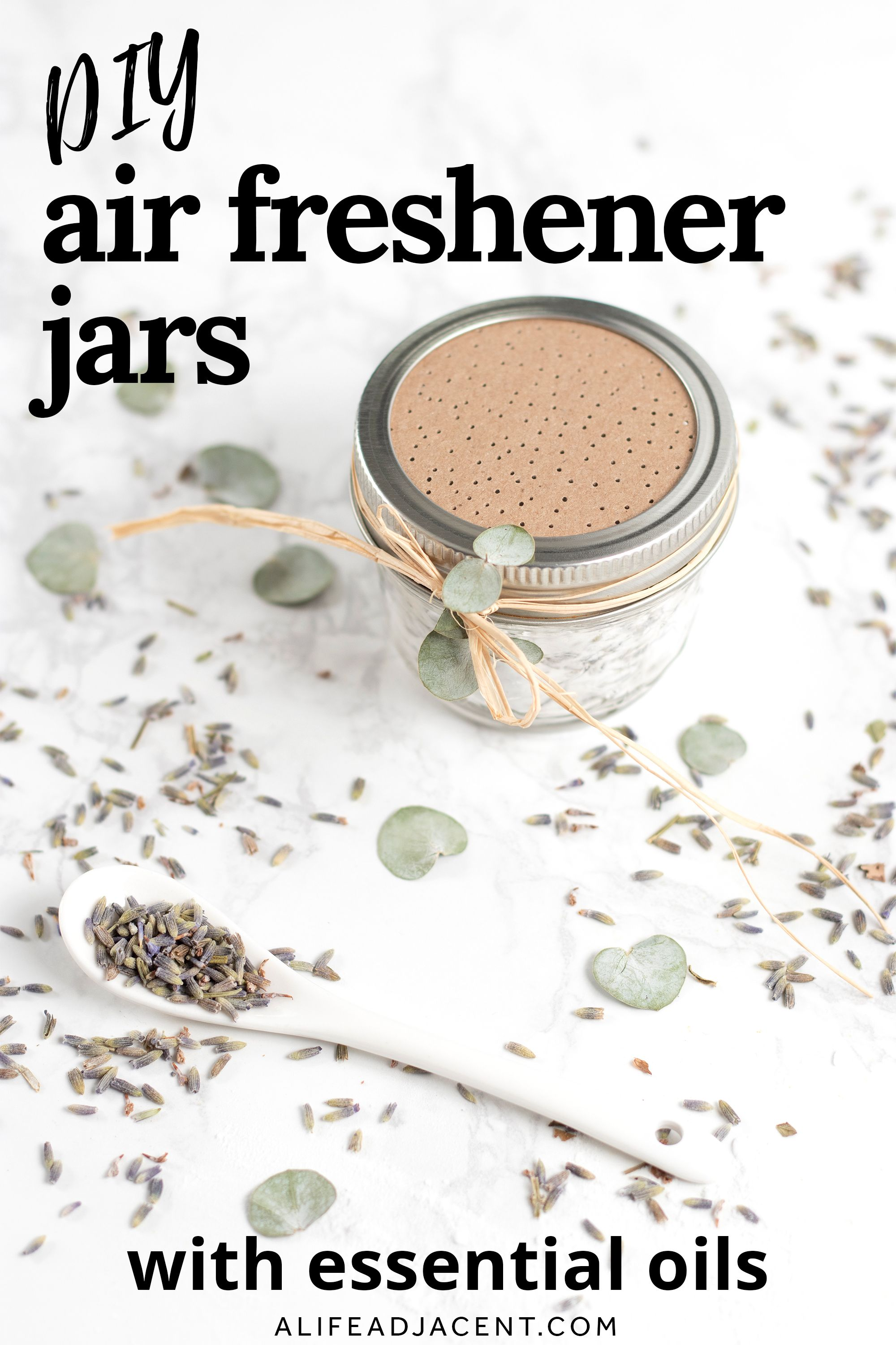 DIY Air Freshener Jars with Essential Oils for a Fresh