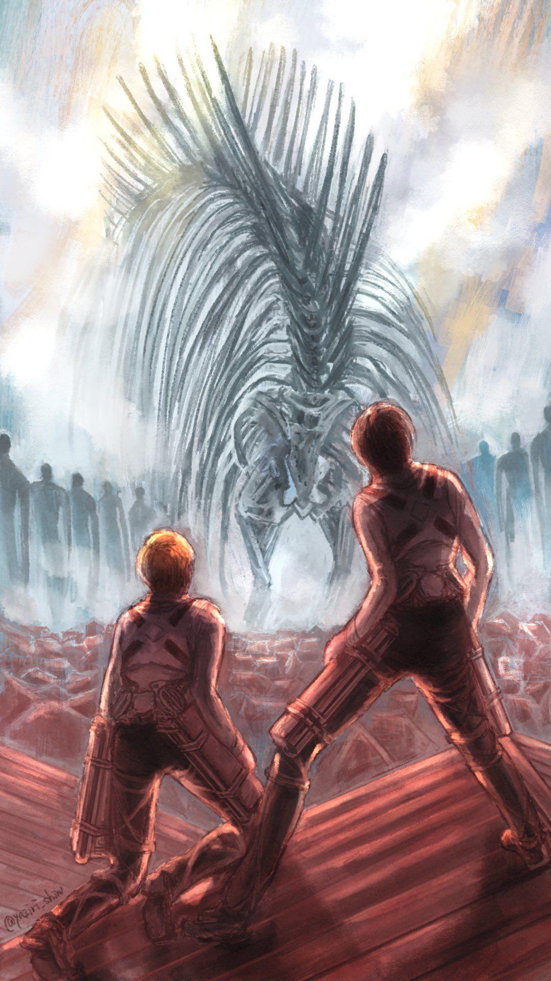 """Ã'""""じり Æ–°åˆŠé€šè²©ä¸ On Twitter Attack On Titan Anime Attack On Titan Attack On Titan Art"""