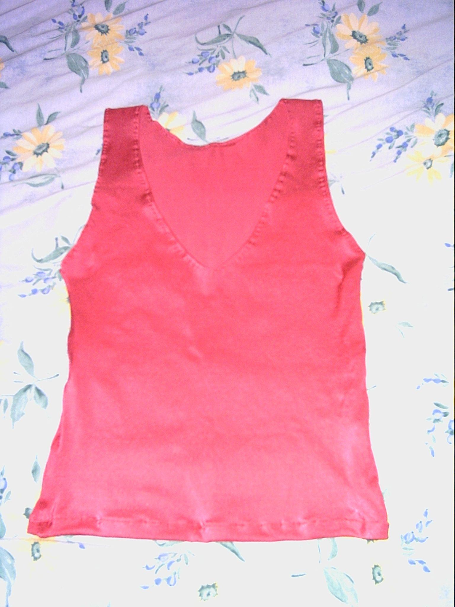 Unter wäsche Latex BH Hemt c-85 Pink
