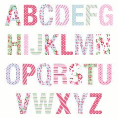 alphabet wall stickers Google Search Home