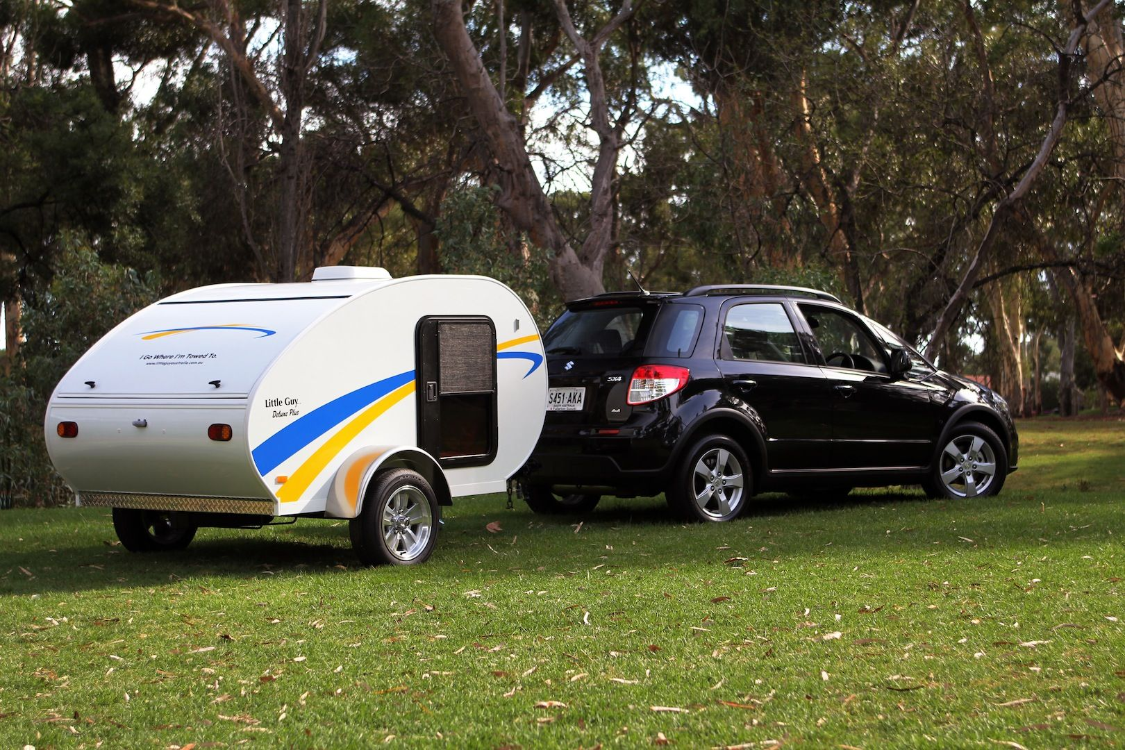 Camper For Small Cars Little Guy Trailers Priced From 10 460 Small Camper Trailers Small Campers Camper Trailer Australia