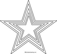 free printable heart stencils star templates templates patterns