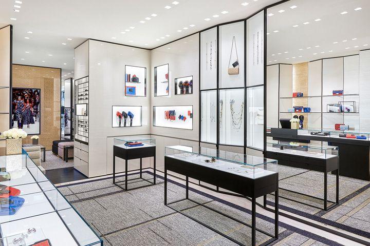Chanel Boutique Stockholm Sweden Retail Design Blog