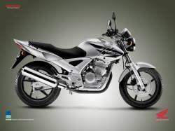 Honda Cbx 250 Twister Photos And Comments Www Picautos Com Honda Cbx Honda Honda Bikes