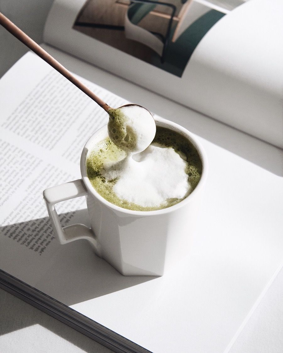 The Fluffier, The Better. Our Ceremonial Matcha Is