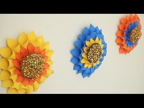 Diy paper crafts how to make simple paper rosettes spring diy paper crafts how to make simple paper rosettes spring flowers innovative arts youtube mightylinksfo