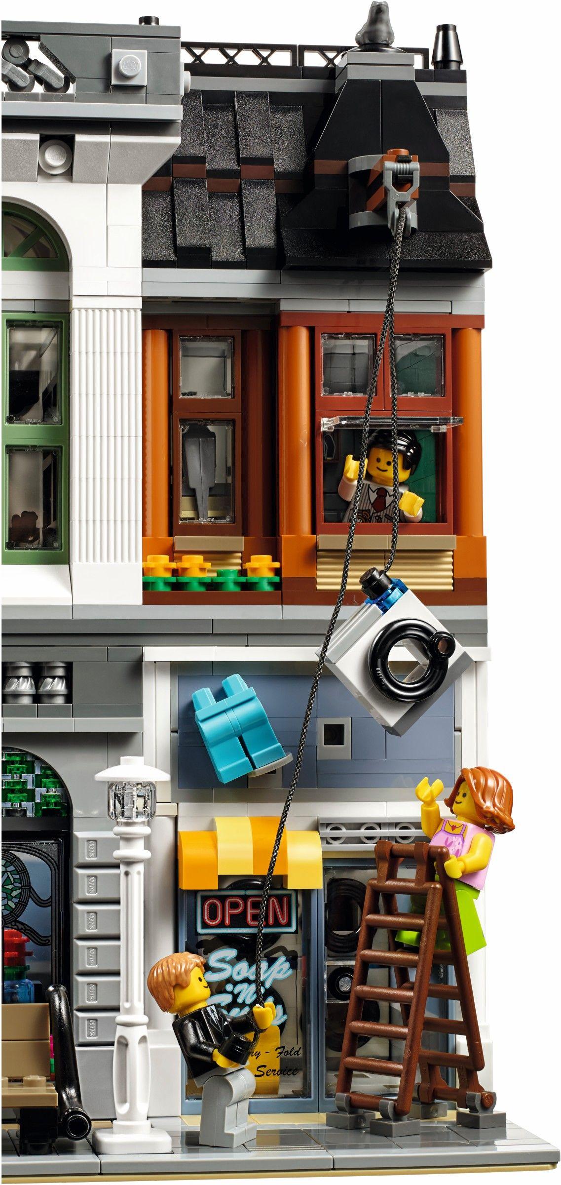 102511 Brick Bank Lego, Lego design, Lego architecture