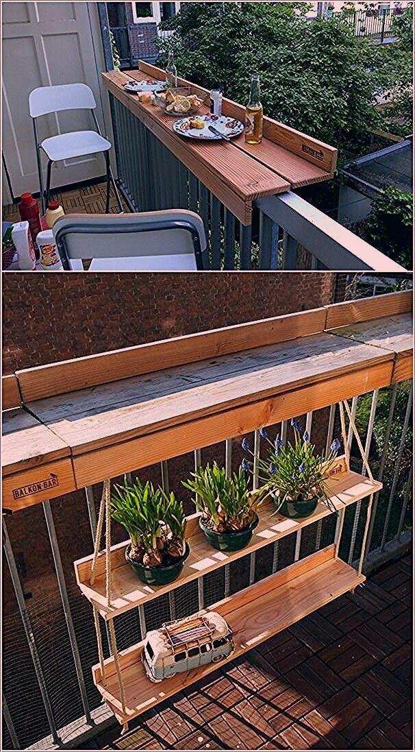 Photo of Wenn Ihr Balkon einen Kaffee oder einen Beistelltisch benötigt, groß oder klein