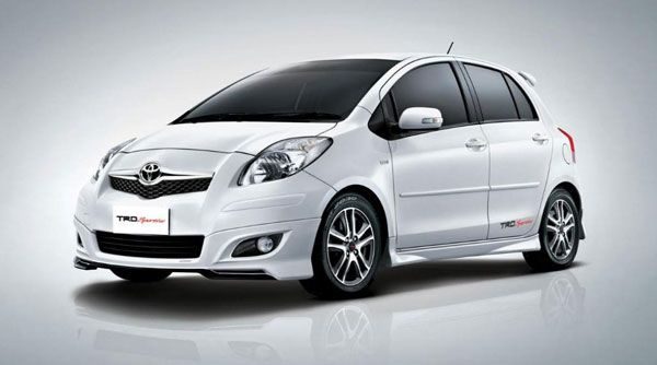Toyota Yaris Trd White All New Camry Old Loving The Simplicity Lady Gaga