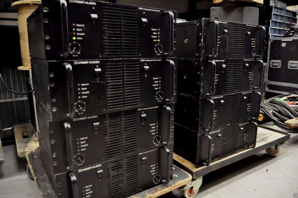 Crest Audio 10001 Professional Amplifier (15,000 watts 2