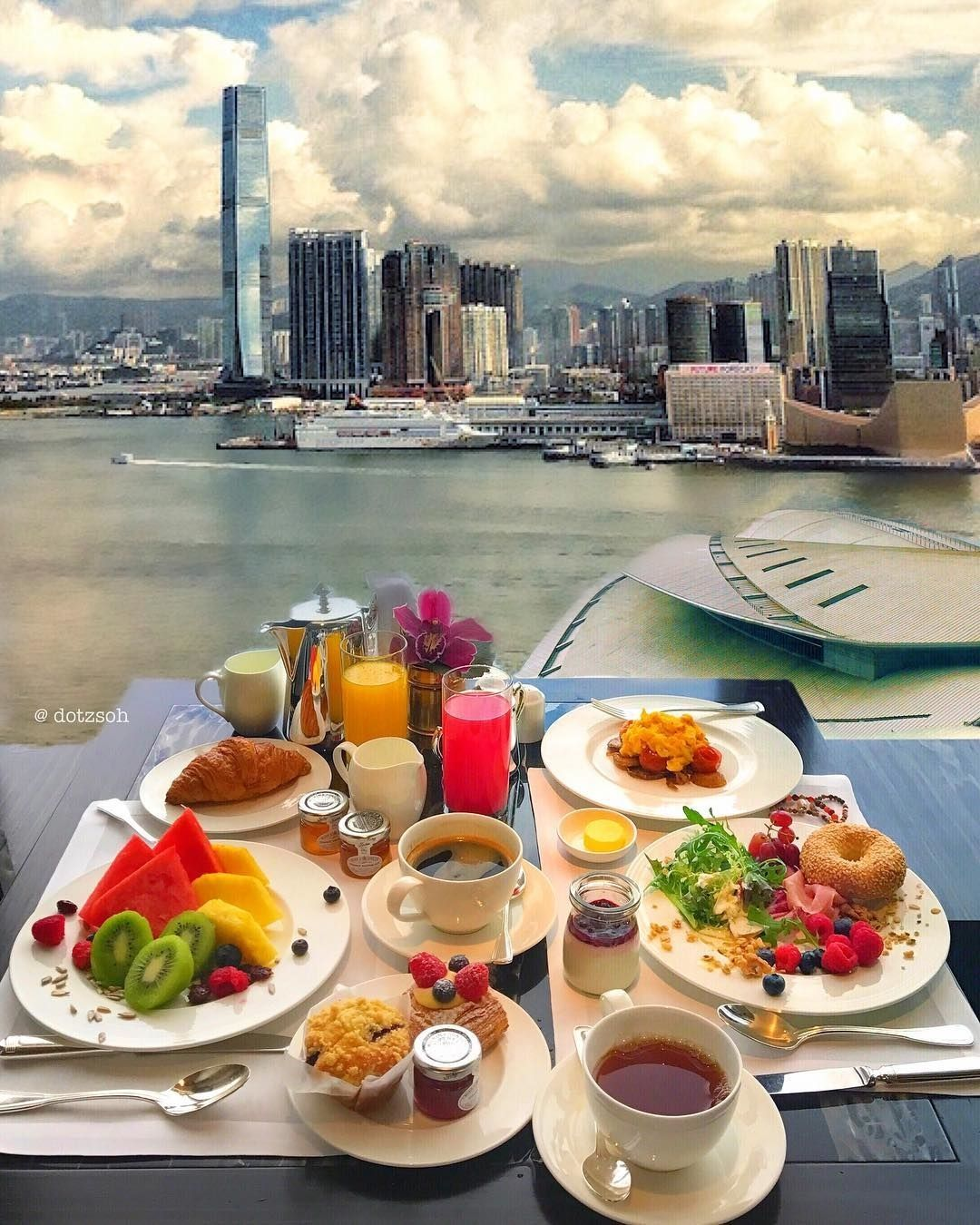 Always Great To Wake Up To A Lovely Breakfast And Amazing View Of