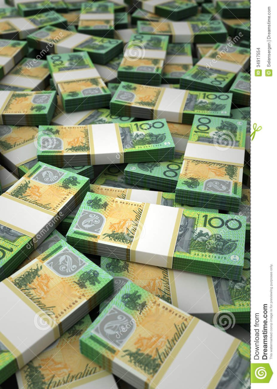 The money is here and there is plenty of it$$$$$$$$$