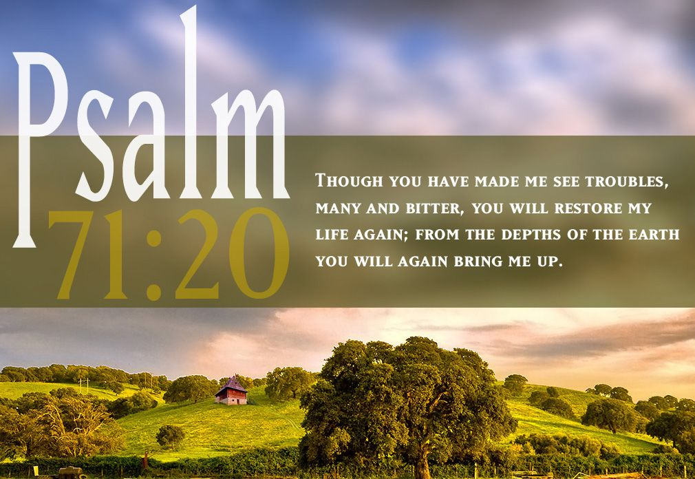 Psalm 6060 KJV Thou Which Hast Shewed Me Great And Sore Inspiration Famous Bible Quotes About Life