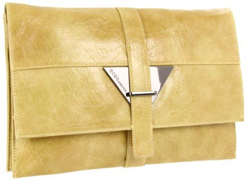 BCBGeneration Women's Julia JLA445GN Clutch,Peridot,One Size $88.00