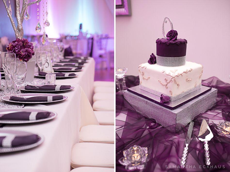 Crystal Ballroom At The Veranda In Metrowest By Orlando Wedding Photographer Corner House Photography Purple
