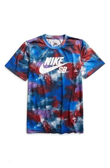Boy's Nike 'SB Galaxy Print' Dri-FIT ...