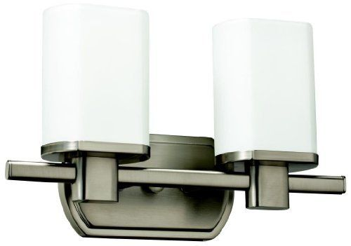 Kichler Lighting 10666NI 2 Light Lege Fluorescent Bathroom