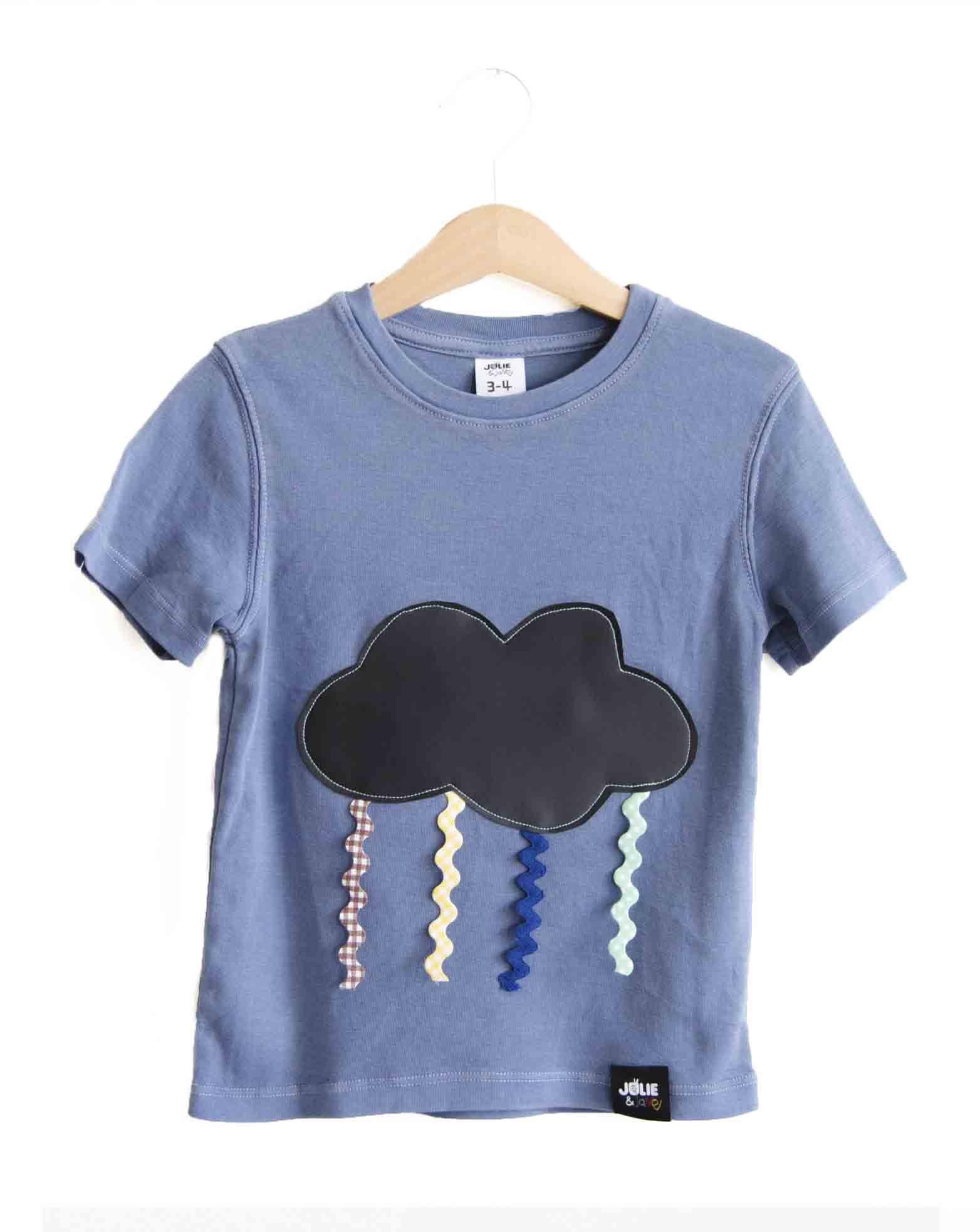 bfb75157d77c8 Camiseta PIZARRA Nube