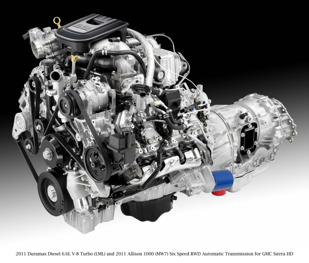 Duramax Engine And Allison Trans With Images Duramax Diesel