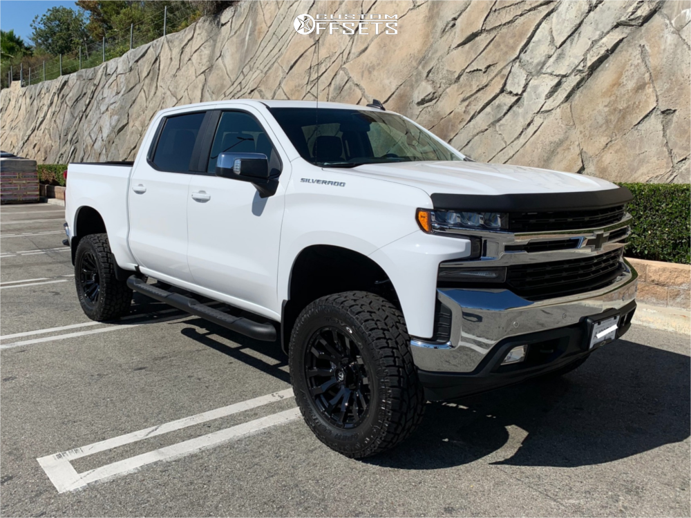1 2019 Silverado 1500 Chevrolet Bds Suspension Lift 6in Fuel Blitz Black Chevrolet Silverado Chevrolet Silverado 1500 Silverado