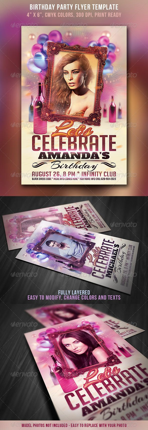Birthday Party Flyer  Party Flyer Flyers And Birthday Parties