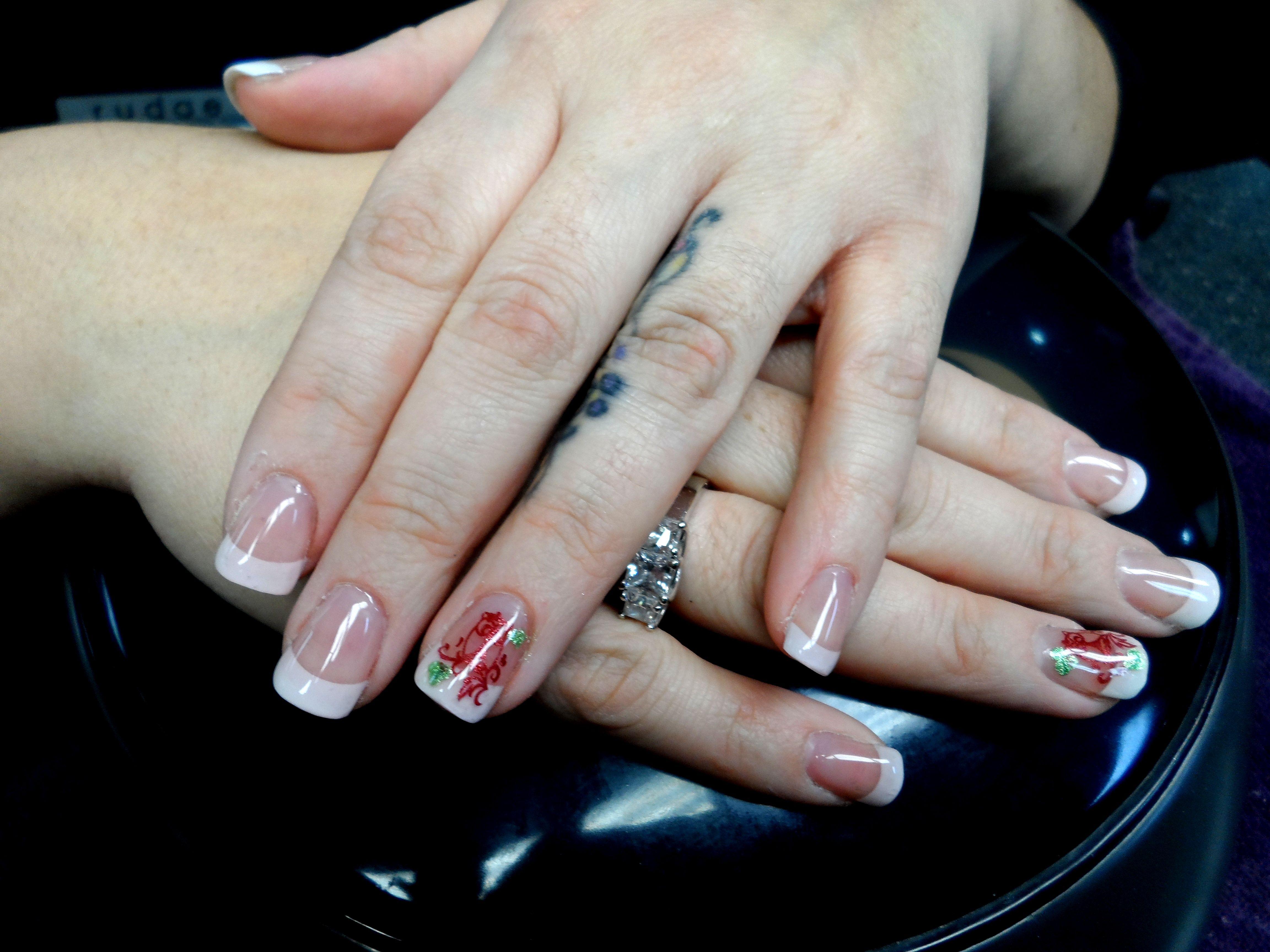 Sculptured gel nails over tips (first set ever) by Rita Korn, Fort ...