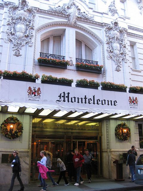 Steve and I always stay at Hotel Monteleone, New Orleans, Louisiana