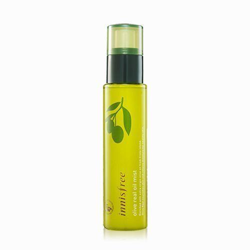 Innisfree Olive Real Oil Mist 80ml Nourishing Moisturizing K Beauty Innisfree
