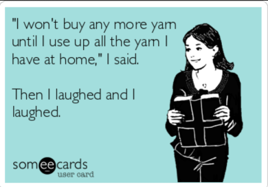 Image result for yarn addict funny