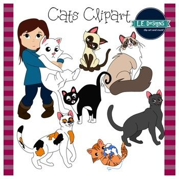 Cats Clipart L E Designs Tabby Cat Cat Clipart Tabby Cat Pictures