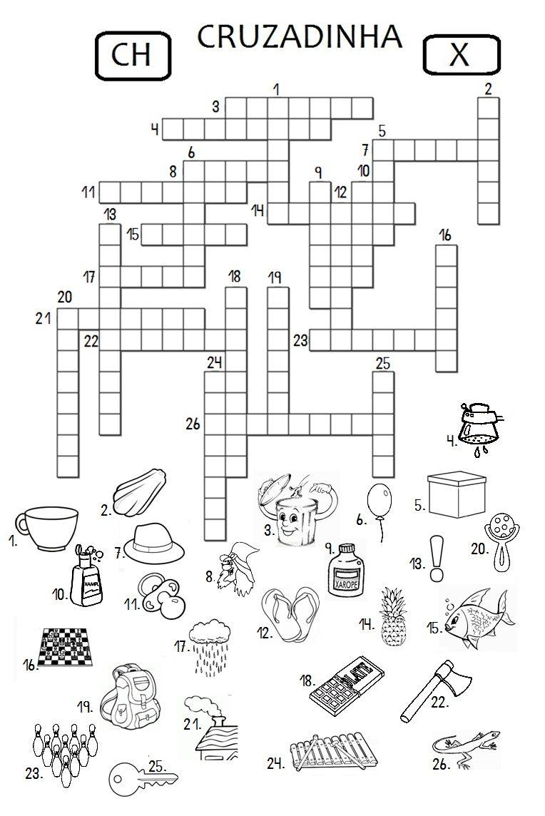 Homework initials crossword clue