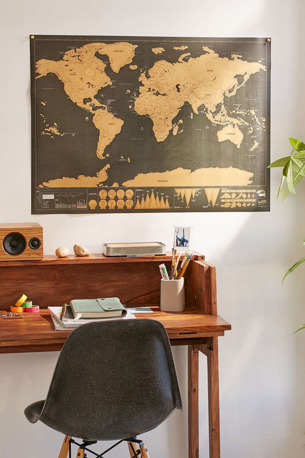 Deluxe world scratch map bedrooms flats and nest 32x23 deluxe world scratch map 39 scratch off place when youve been publicscrutiny Images