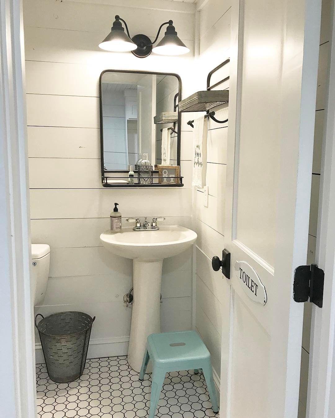pinashley palmer on top three  half bathroom decor
